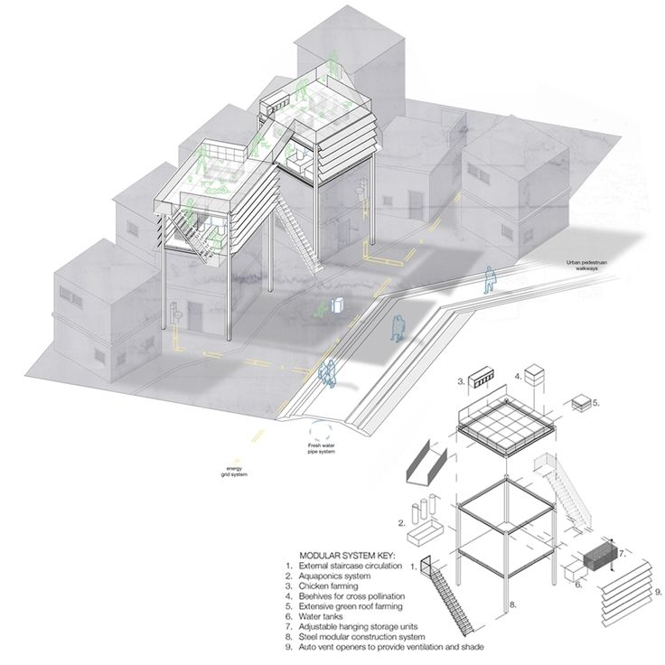 17 Best Images About Exploded Axonometric Architectural