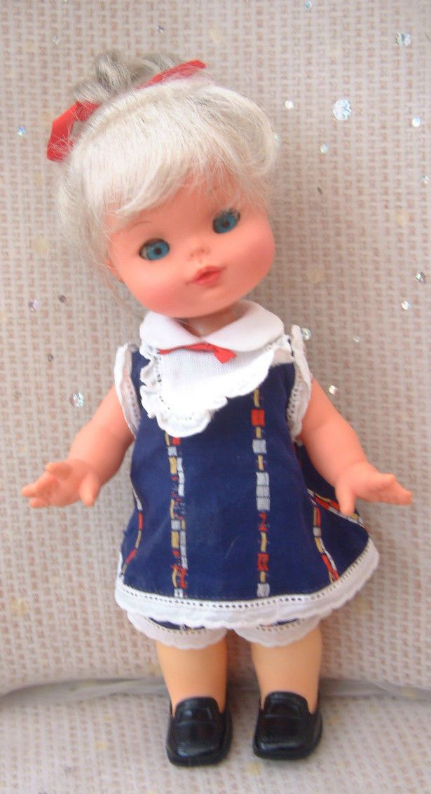 3 x vintage 70s 80s dolls from Italy - Furga toddler - orig outfit - silver hair | eBay
