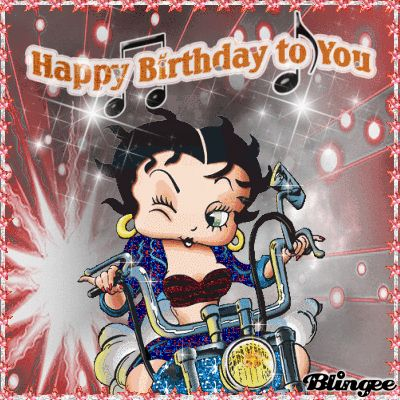 Happy Birthday To You Betty Boop Style