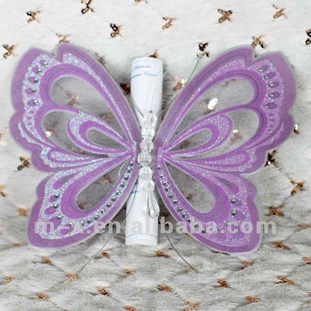 Ms de 25 ideas increbles sobre card factory en pinterest t192 china beautiful butterfly shape wedding invitation card factory negle Gallery