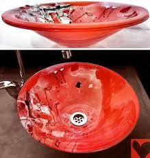 26 best bachas para baños images on pinterest | glass, mosaics and ... - Bachas Para Bano Pintadas A Mano
