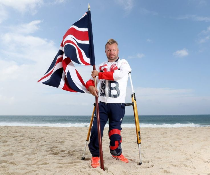 September 7 2016 - Lee Pearson chosen as flag bearer for Rio 2016 Paralympic Games opening ceremony