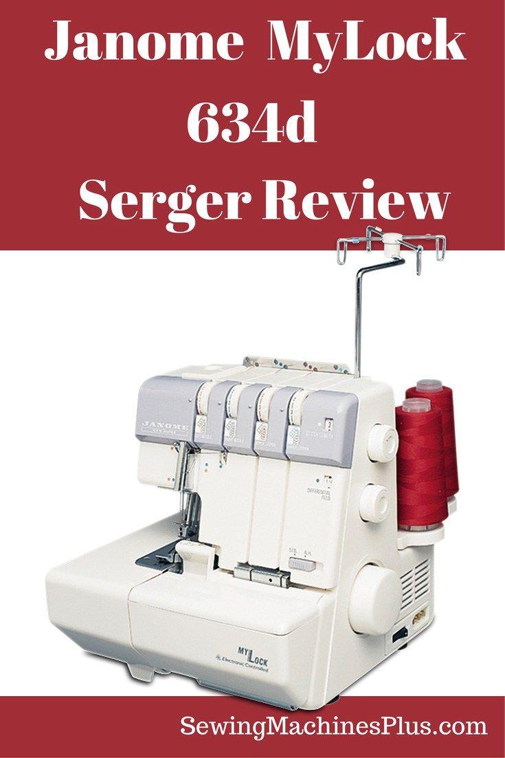 Janome 634D Serger Review