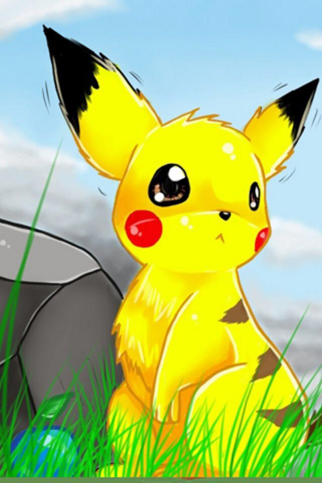 A Really Cute Pikachu Wallpaper For Pokemon Fans Courtesy If Apps