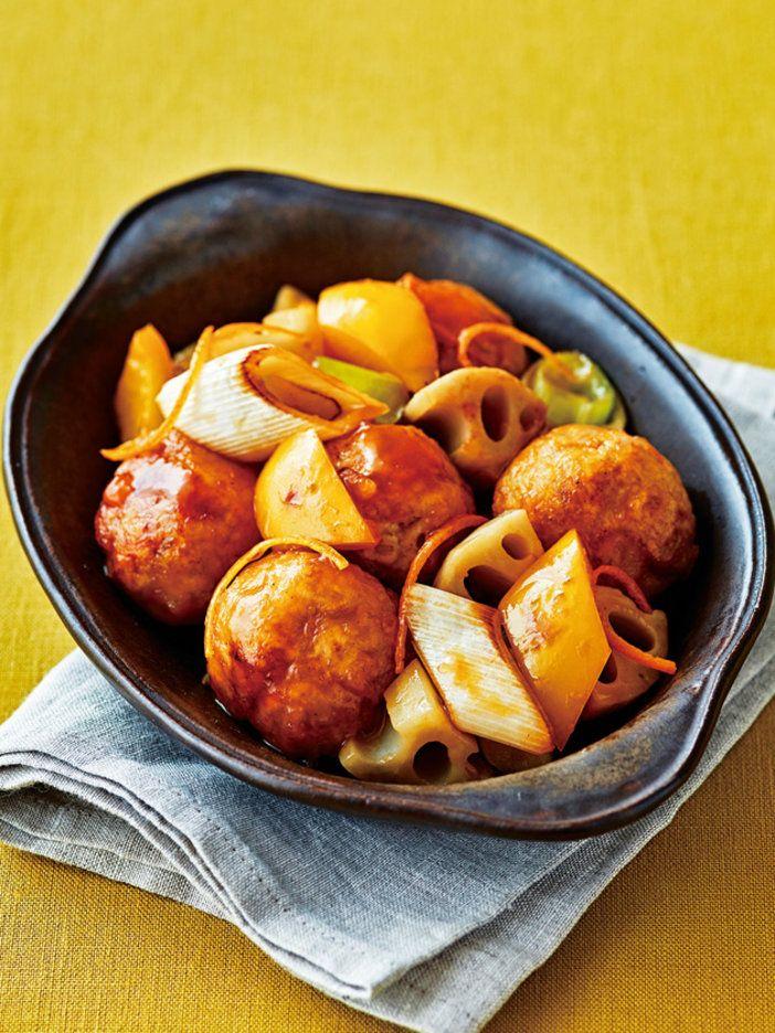 フルーツの酸味を効かせた、おしゃれ酢豚風|『ELLE a table』はおしゃれで簡単なレシピが満載!