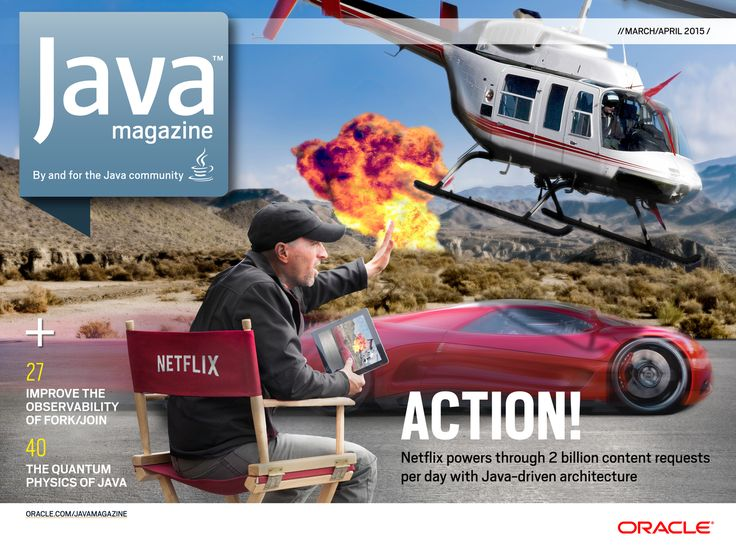 Java Magazine - March/April 2015 - Front Cover