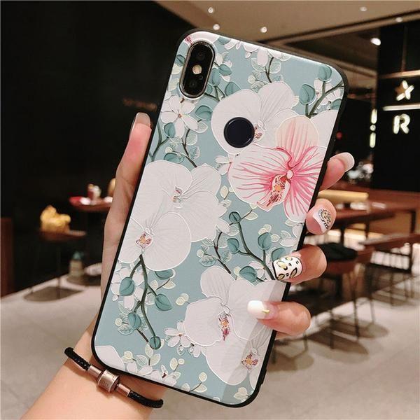 3d Rose Flowers Case For Xiaomi Redmi Note 7 Pro Case Mi9 Mi8 A2 A1 5x 6x Mix 2s 4k Iphone Wallpaper Fall Note 7 Xiaomi