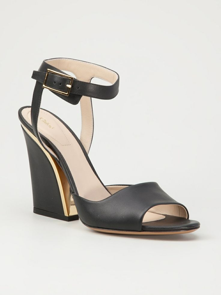 Chloé - chunky heel sandals 6
