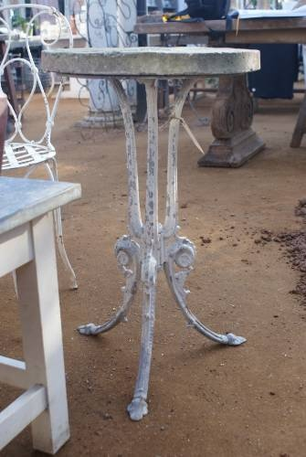 stone bistro table