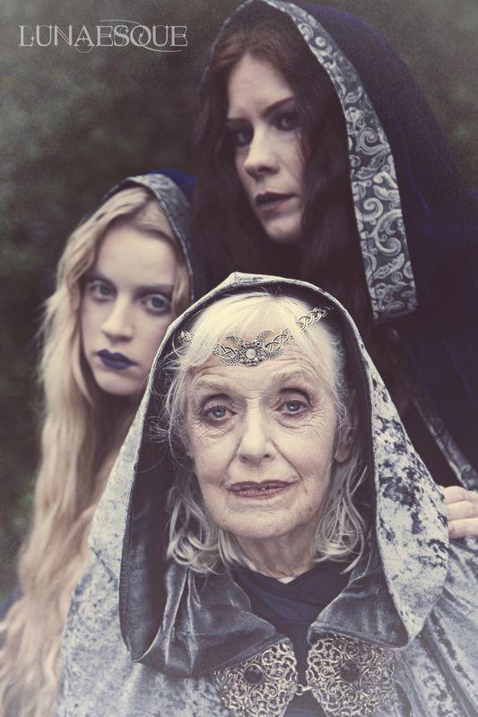 The Triple Goddess - Lunaesque Creative Photography