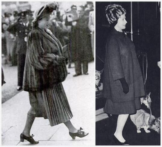 Rare photos of a pregnant Queen Elizabeth II..This is the reason that Catherine is not in public right now..These are private times. 7/2013