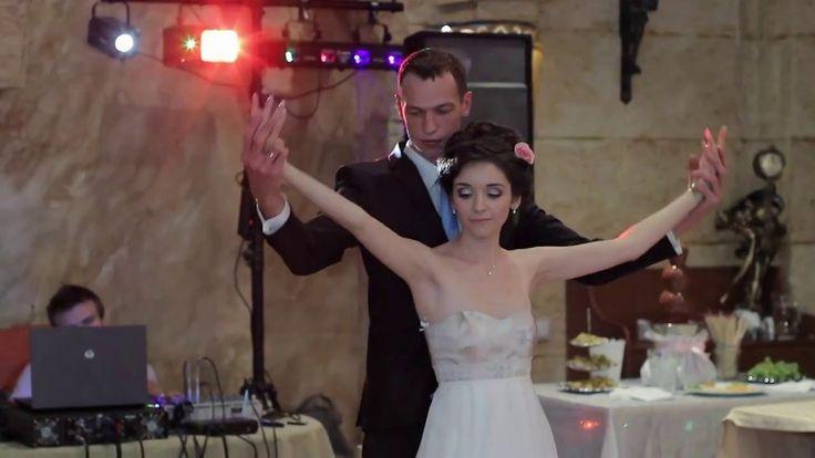 Первый танец молодых на свадьбе постановочный первый танец женихи и нев...