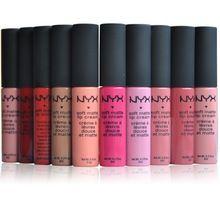 Nova Lip Gloss Hidratante de Longa Duração À Prova D' Água Batom Matte Batom Nu Gloss Lip Balm Marca de Maquiagem Sexy Para Lábio alishoppbrasil