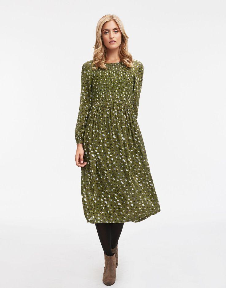 ONORA klänning grön 349 kr från Indiska