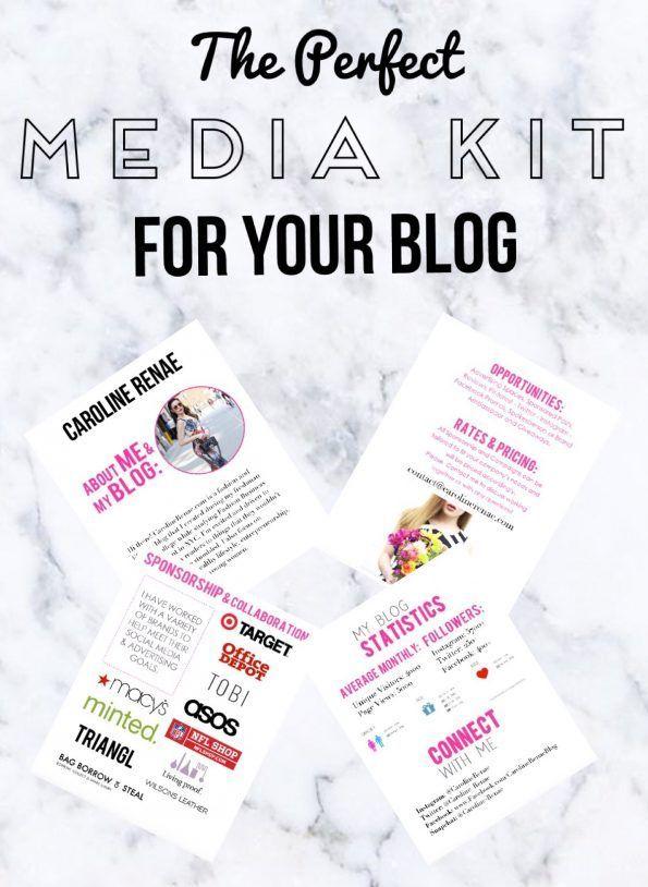 #blogger #mediakit #presskit #branding #carolinerenae