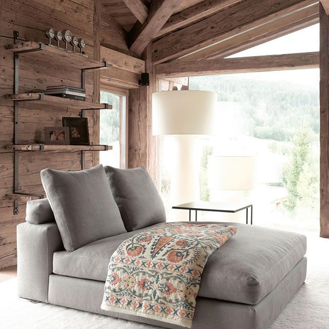 Something like this for Office. Angle out of window corner - guests can sleep on it.