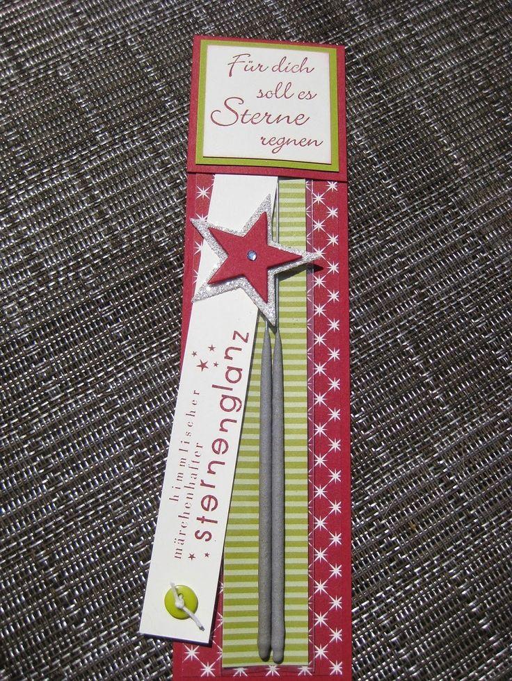 Heute morgen kam mir die Idee für ein kleines Weihnachtsgeschenk.... ähnlich hatte ich das schon mit den Seifenblasen und auch mit einem Kul...