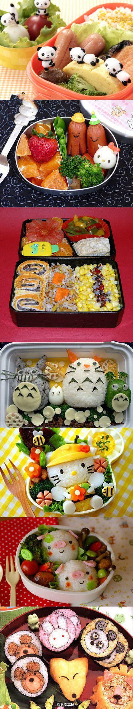 介样的便当和寿司怎能不爱~
