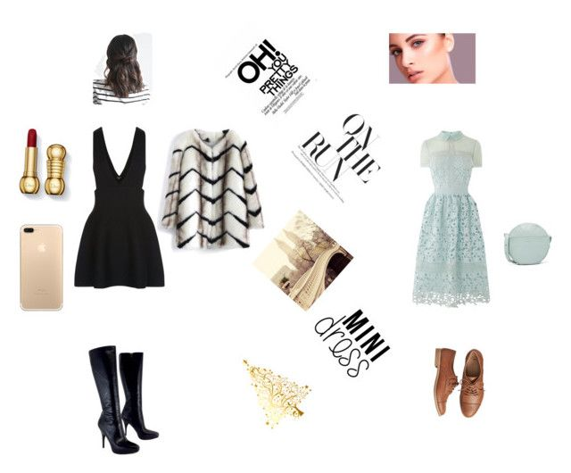 """""""Random"""" by aliza-ahmed on Polyvore featuring Via Spiga, Chicwish, New Look, Gap and BAGGU"""