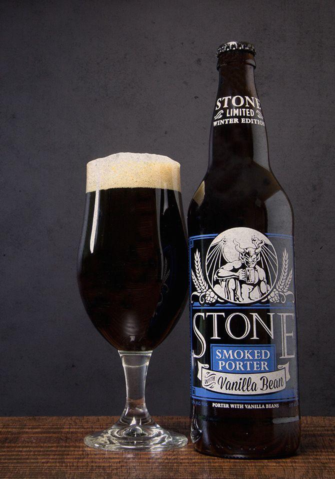 Stone Smoked #Porter with Vanilla #Beans Returns
