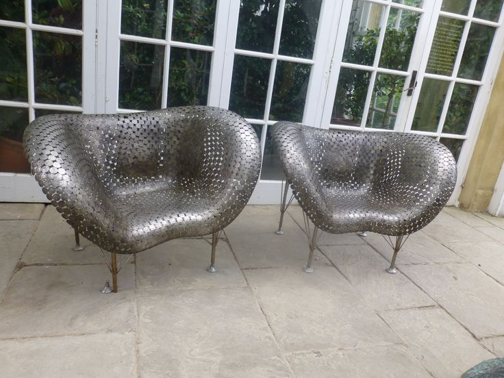 Coin Chairs #Chatsworthhouse #Derby