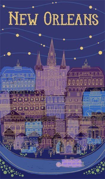 NOLA #poster #city #NewOrleans                              …                                                                                                                                                                                 More