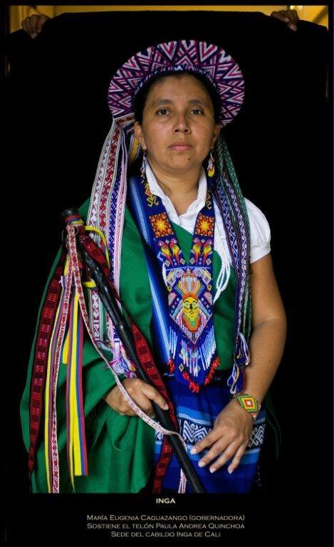 Míranos. Estamos Aquí: Líder Inga. Crédito Antonio Briseño, 2012.