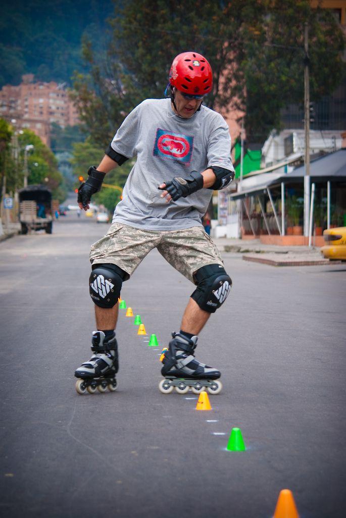 Roller in Bogota Colombia