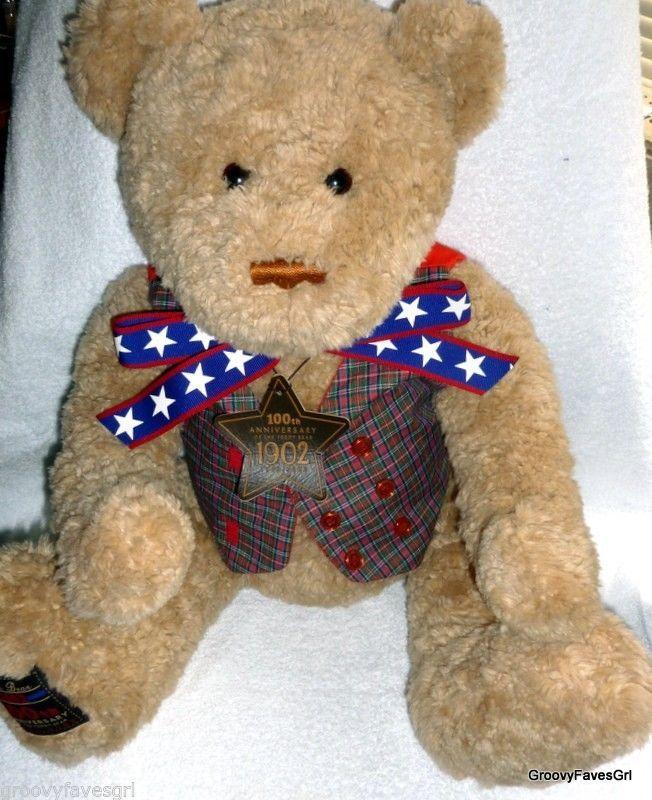 "GUND Teddy Bear Wish Anniversary 100th 2002 25"" May Department Stores"