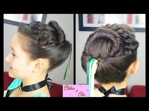 Princess Anna's Coronation Hairstyle (NO Hair Extensions!!) | Frozen Inspired | Disney Princess - YouTube
