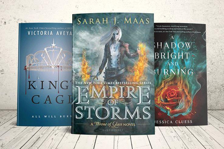 Win 3 Highly Anticipated YA Fantasy Books!