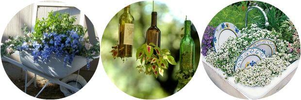 Bloemen en planten hoef je niet alleen in potten en plantenbakken te planten. Inspiratie voor planten op ongewone plekken. Zet de bloemetjes maar buiten!