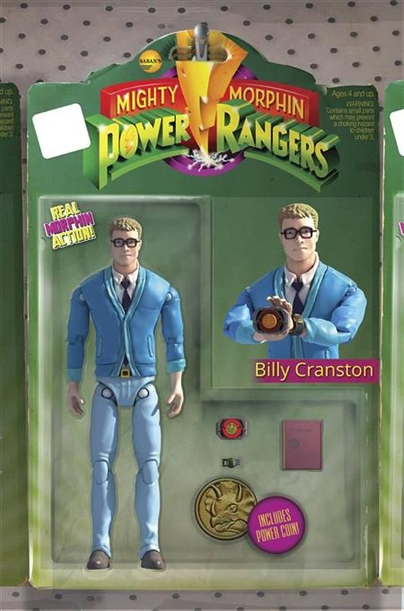MIGHTY MORPHIN POWER RANGERS #17 ACTION FIGURE VARIANT - BOOM! Studios - Come Innovate With Us.