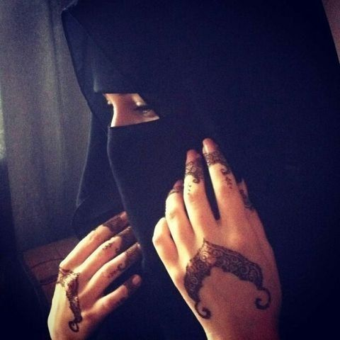 Niqab is so beautiful, because people will fall for your personality and not for the way you look