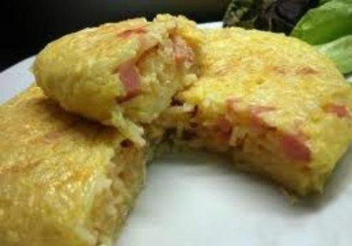 Receta de Tortilla de Arroz: cocinar con sobrantes