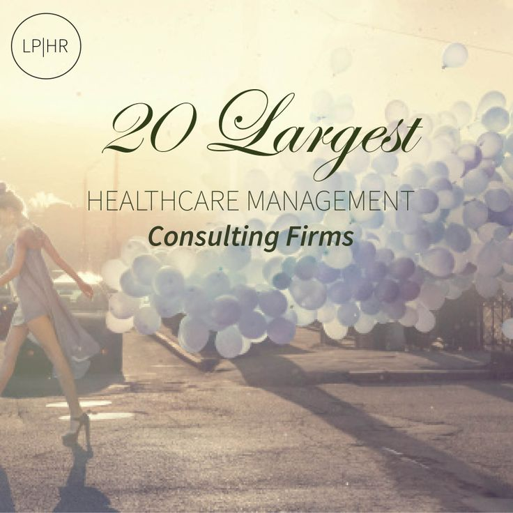20 Largest Healthcare Management Consulting Firms | American Registry -  http://bit.ly/15zS6xx