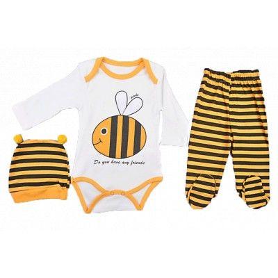 Βρεφικο σετάκι για κορίτσια 3τμχ 'μελισουλα΄ | Παιδικά ρούχα, Ρούχα μπεμπέ, Παιδική μόδα, Εφηβική μόδα