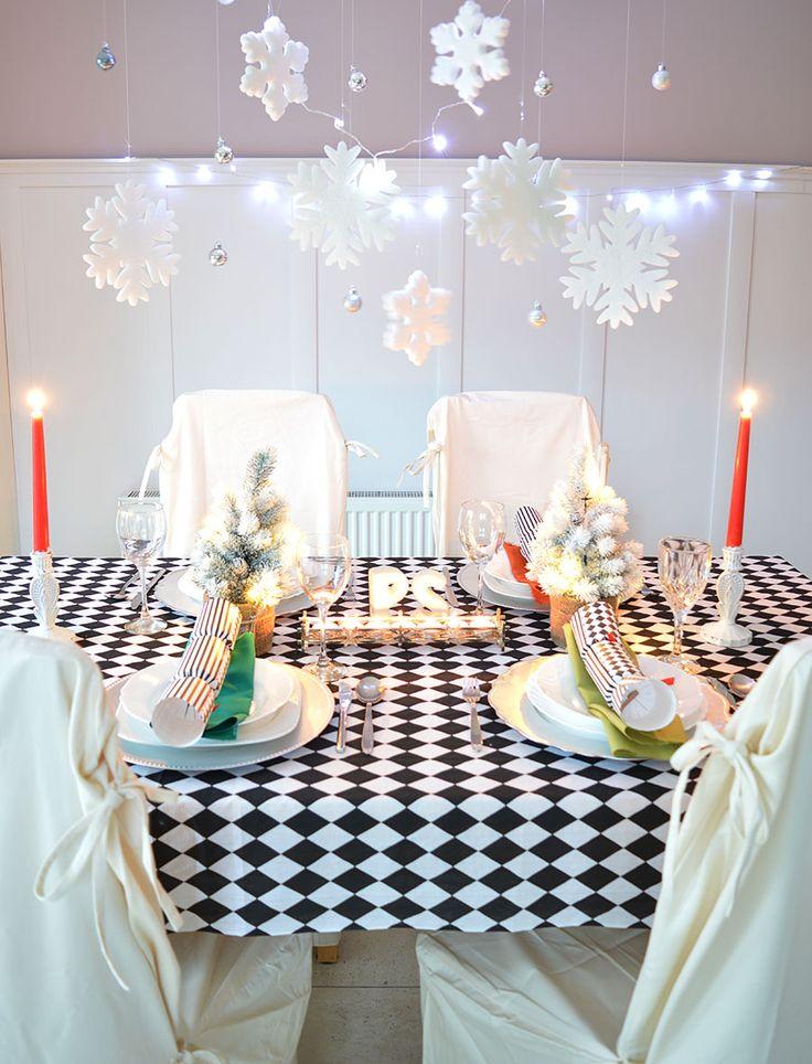 Wigilijny stół. Jak nakryć do stołu. InteriorsPL.com: