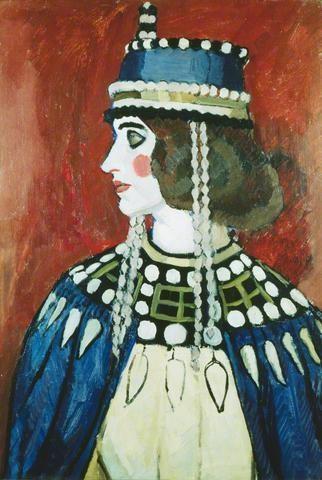 "artist...Vanessa Bell  ""Byzantine Lady""                                                                                                                                                     More"
