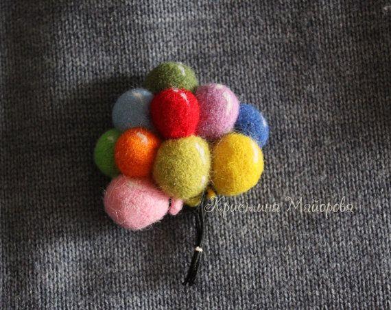 brooch balls (брошь воздушные шары)