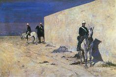 Giovanni Fattori; In vedetta; 1871 ca.; olio su tela; Collezione Marzotto, Valdagno, Vicenza.