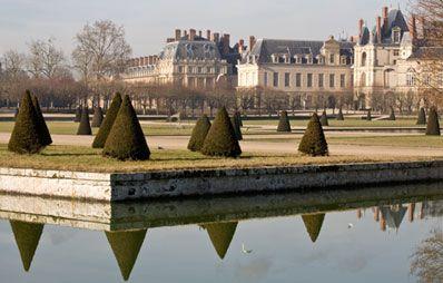 Le château de Fontainebleau, France