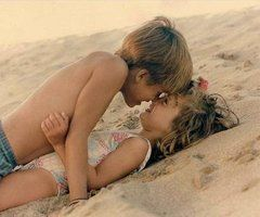: Little Children, Kiss, So Cute, Summer Romances, Kids, Young Love, People, Cutest Things Ever, So Sweet