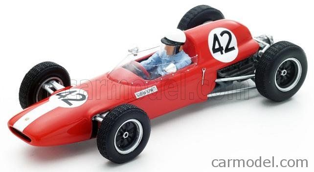 SPARK-MODEL S4822 Scale 1/43  LOTUS F1  24 N 42 FRENCH GP 1963 P.HILL RED WHITE