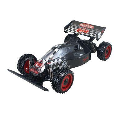 Topraiders Sniper Buggy op afstand bestuurbare auto  Racen wordt nu nog gaver met deze op afstand bestuurbare Topraiders Sniper-racebuggy van 1:18. Voer de coolste stunts uit!  EUR 24.99  Meer informatie