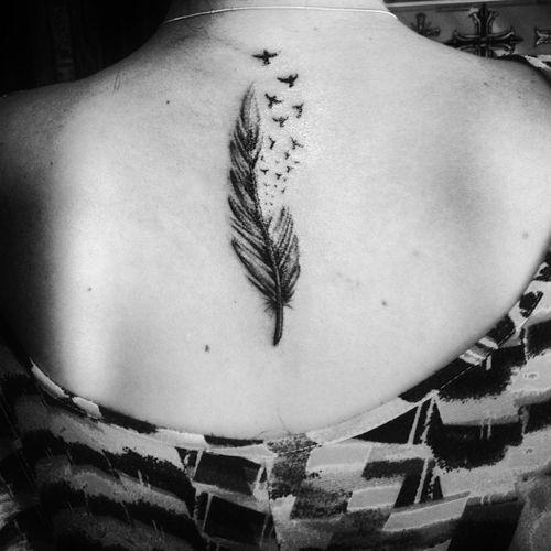 Amazing Feather Tattoo  Designs