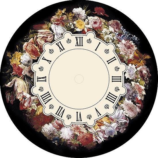 (21) Gallery.ru / Foto # 70 - Los diales durante horas. Esquemas para el bordado no lo es! - MontanaBel