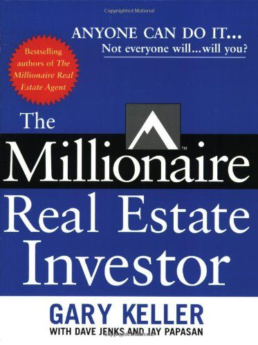 "The Millionaire Real Estate Investor (By Jay Papasan) On Thriftbooks.com. FREE US shipping on orders over $10. ""This book is not just a bargain, it's a steal. It's filled with practical, workable advice for anyone wanting to build wealth.""—Mike Summey, co-author of the bestselling The Weekend Millionaire's..."