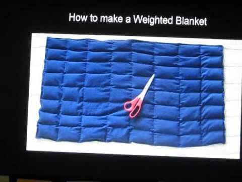 DiY How To Make A Weighted Blanket For Children With AUTISM