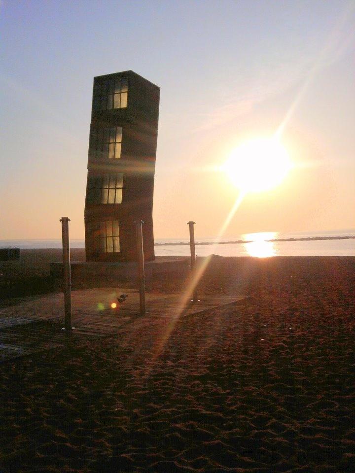 Barceloneta beach. Barcelona